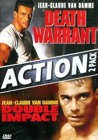 Death Warrant (1990) / Double Impact (1991)