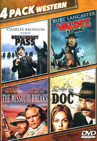 MGM Westerns: Breakheart Pass / Valdez Is Coming