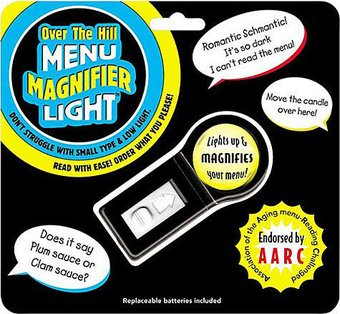 Over The Hill - Menu Magnifier Light
