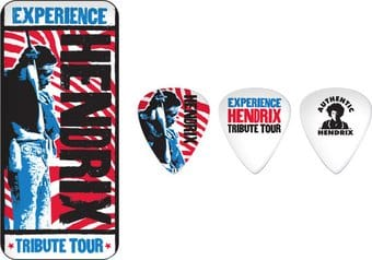 Tribute Tour Pick Tin - 6 Medium Picks