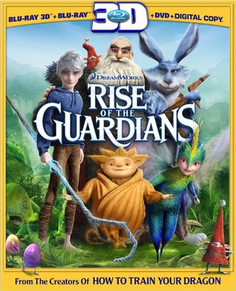 Rise of the Guardians 3D (Blu-ray + DVD)