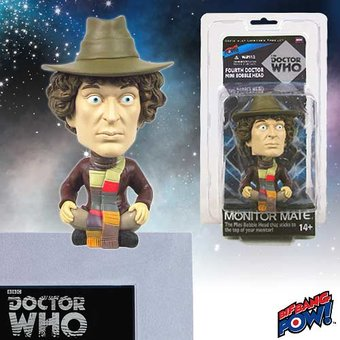 The 4th Doctor - Mini Bobble Head Monitor Mate