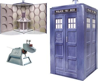 Doctor Who - Tardis - Collectible Set With K-9
