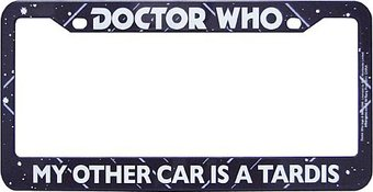 Doctor Who - My Other Car Is A Tardis - License