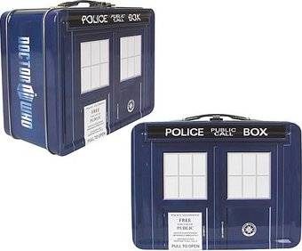 Doctor Who - TARDIS - Tin Tote (Eleventh Doctor