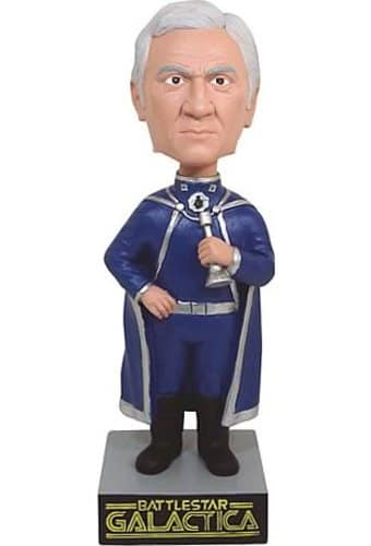 Commander Adama Bobble Head