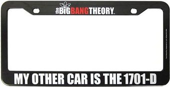 The Big Bang Theory - 1701-D License Plate Frame