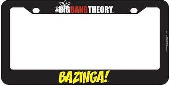 The Big Bang Theory - Bazinga! License Plate Frame