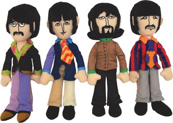 "Yellow Submarine: Band Members 4-Piece 14"" Plush"
