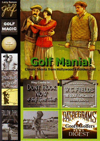 Golf Mania! Classic Shorts from Hollywood's