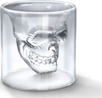 Skulls- Doomed: Crystal Skull Shot Glass
