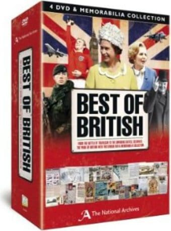 Best of British Memorabilia Set (4-DVD)