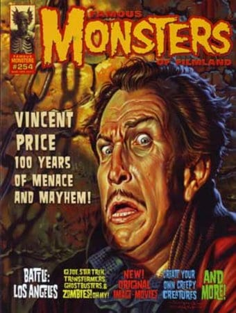 Famous Monsters of Filmland #254