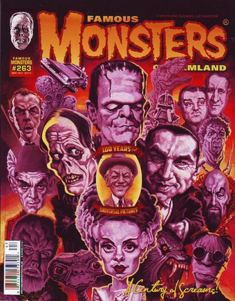 Famous Monsters of Filmland #263