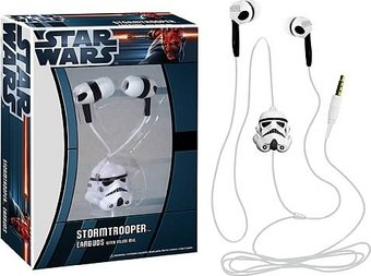 Star Wars - Stormtrooper Earbuds