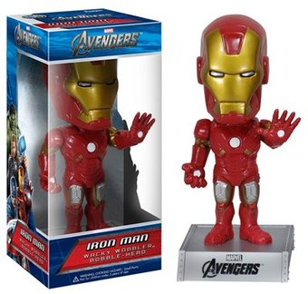 Marvel Comics - Avengers - Iron Man Wacky Wobbler