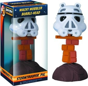 Star Wars - Angry Birds - Stormtrooper - Piggy