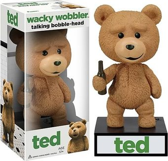 Ted - Talking Wacky Wobbler