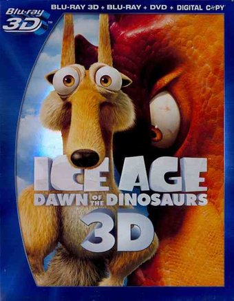 Dawn of the Dinosaurs 3D (Blu-ray + DVD)