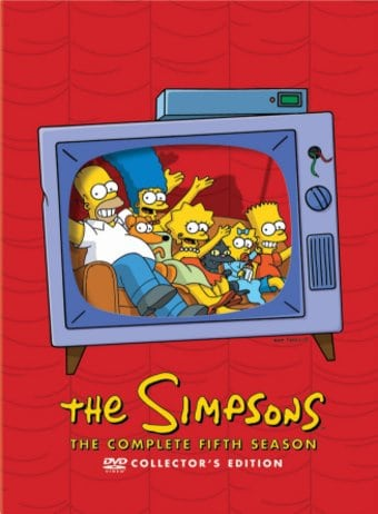 The Simpsons - Complete Season 5 (4-DVD)