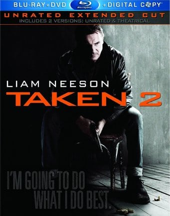 Taken 2 (Blu-ray + DVD)
