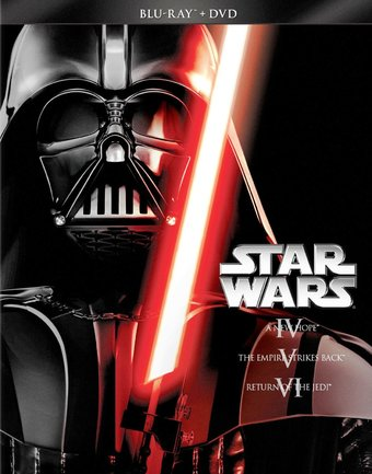 Star Wars Trilogy: Episodes 4-6 (Blu-ray + DVD)