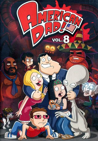 American Dad! - Volume 8 (3-DVD)