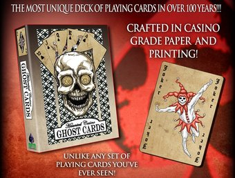 Full Moon Pictures - Haunted Casino - Ghost Cards
