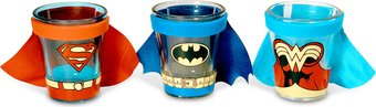 Caped Shot Glass Gift Set 1