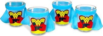 DC Comics - Wonder Woman Caped Shot Glass - Set