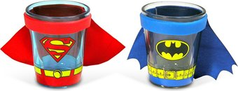 Caped Shot Glass Gift Set 2