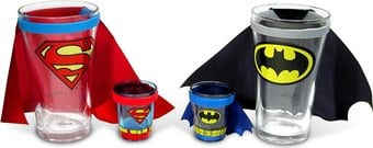 Caped Glass Gift Set