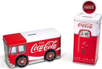 Coca-Cola Bank Set 1