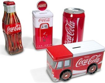 Coca-Cola Bank Set 5