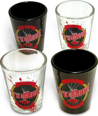 True Blood Shot Glass Gift Set
