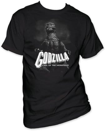 Godzilla: B&W King Of The Monsters (T-Shirt)