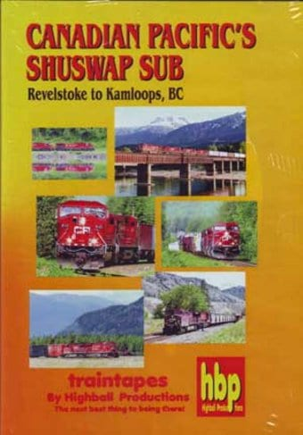Canadian Pacific's Shuswap Sub