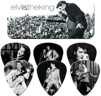 The King - Guitar Picks Tin