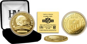 Washington Redskins: 2012 Gold Game Coin