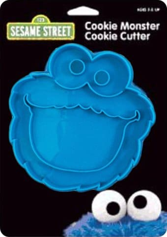 Sesame Street - Cookie Monster Cookie Cutter