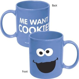 Sesame Street - Cookie Monster: Big Face 11 oz.