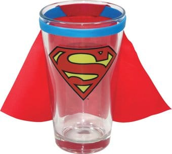 DC Comics - Superman - Caped 16 oz. Pint Glass