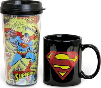 Superman - 2-Piece Gift Set - 15 oz. Plastic