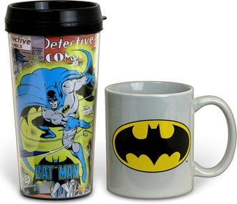 DC Comics - Batman - 2-Piece Gift Set: 15 oz.