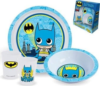 DC Comics - Batman - 3-Piece Kid's Dining Set