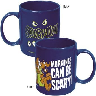 Scooby Doo - Mornings Can Be Scary Blue 11 oz.