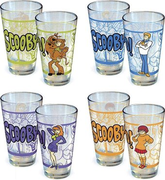 Scooby Doo - Villain Collage 16 oz. Pint Glass