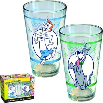 The Jetsons - 2pc 16oz Pint Glasses