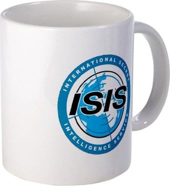 Archer - ISIS Logo 15 oz. Coffee Mug
