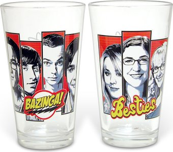2-Piece Collector's Series Pint Glass Set